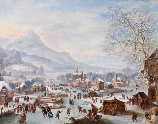 766px-Jan_Griffier_-_Winter_Scene_with_Skaters_-_Google_Art_Project