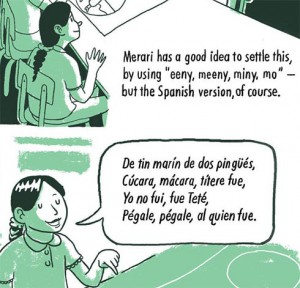 bilingual comic
