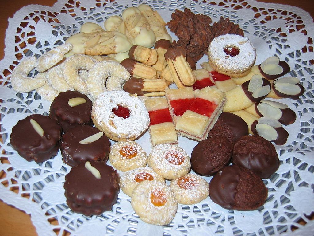 Bredele French Alsatian Cookies