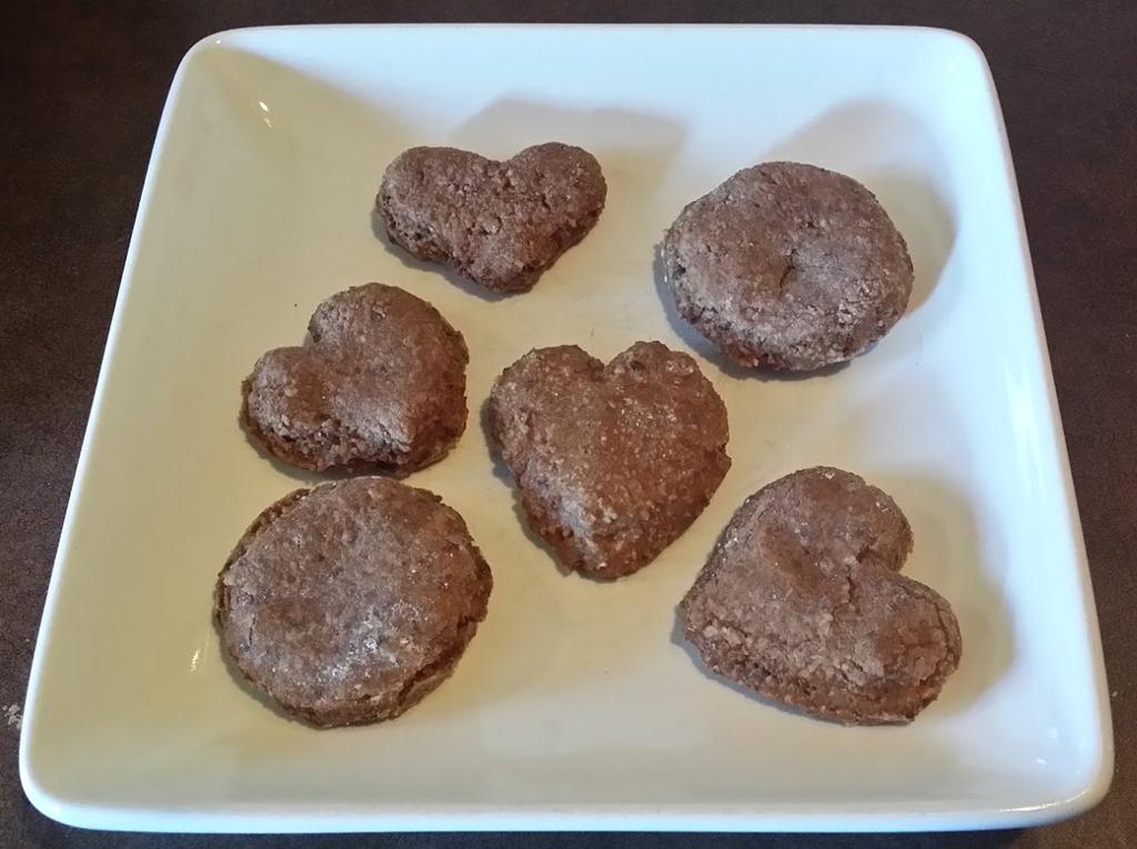 Swiss Chocolate Almond Spice Cookies Called Basler Brunsli