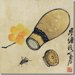 Cricket_gourd_by_Qi_Baishi
