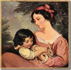Mother & Child Painting - Boulevard de L'antique