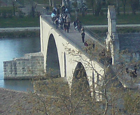 Photo of the Bridge of Avignon