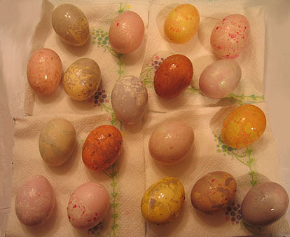 Photo of Marbling Easter Eggs