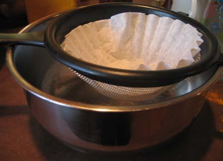 Filtering Dye for Eggs