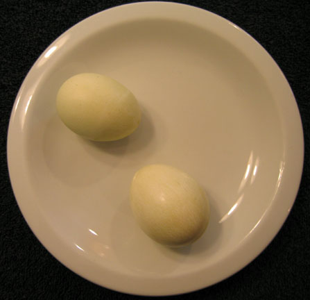 Photo of Eggs Dyed Naturally Green