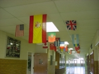 Photo of Flags in School