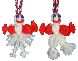 French Good Luck Charm Dolls – A Way to Make Them in Two