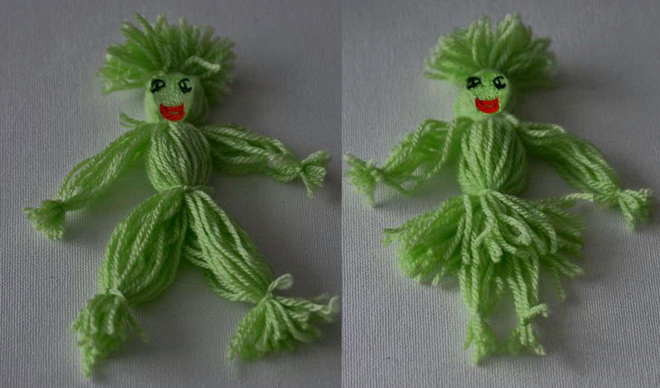 How To Make French Good Luck Charm Dolls Called Nenette Rintintin