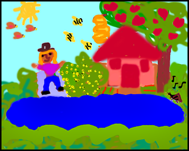 The Lake Isle of Innisfree - Irish Children's Songs - Ireland - Mama Lisa's World: Children's Songs and Rhymes from Around the World  - Intro Image
