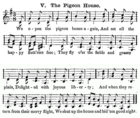 Score of My Pigeon House