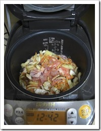 ingredients in rice cooker2