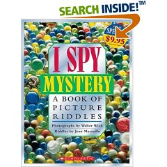 Photo of I Spy Mystery Book