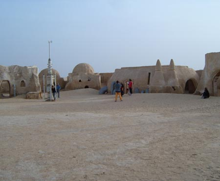 Photo Outside of Lukes Home on Tatooine