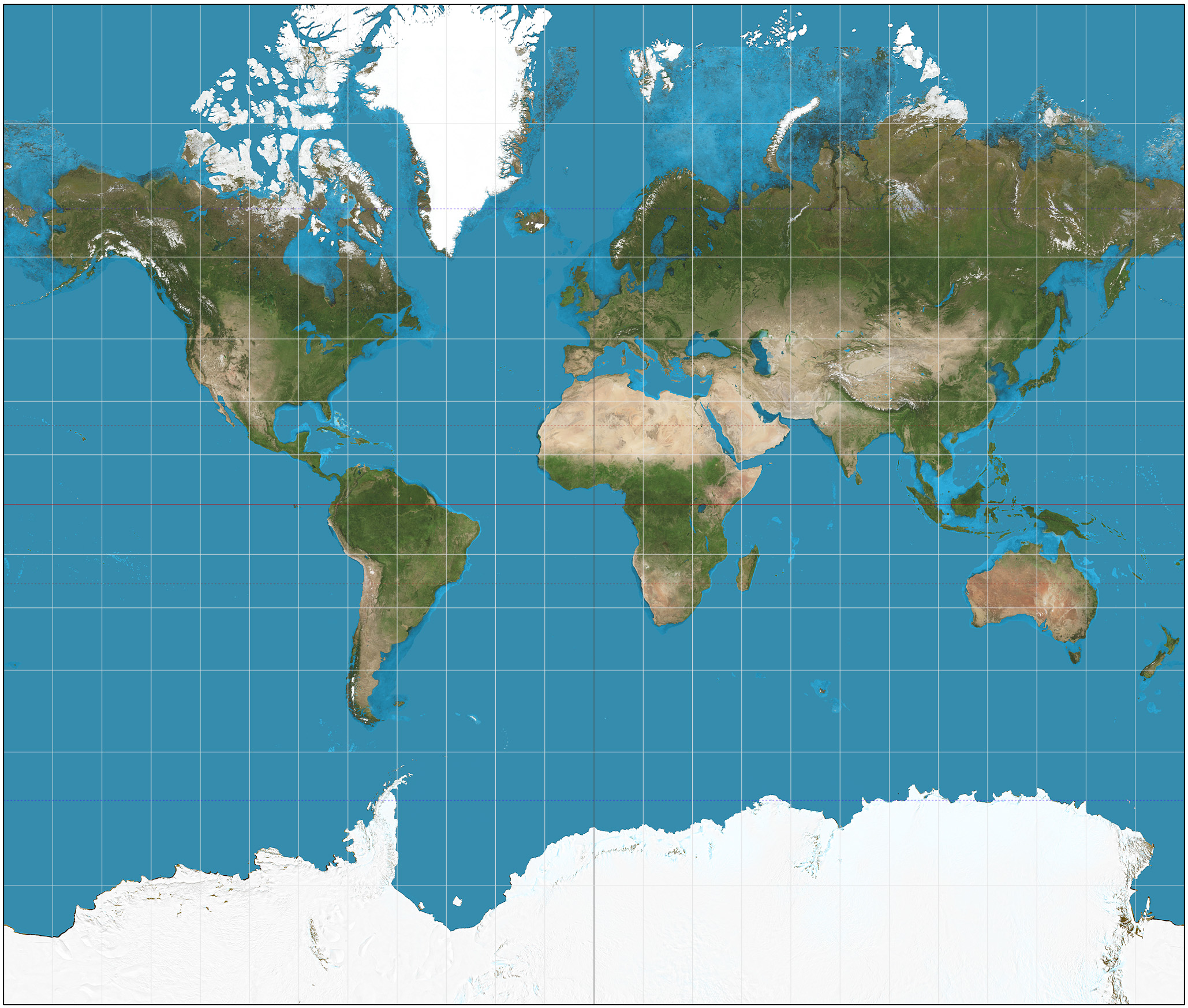 Boston Public Schools Changed to a More Accurate World Map