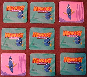 Photo of a Memory Game