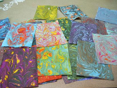 Photo of Marbling Paper