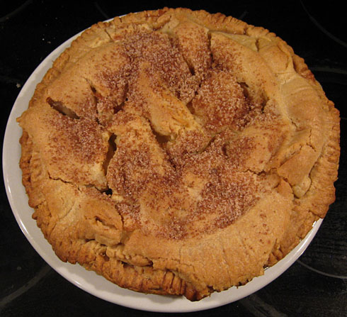 Photo of an Apple Pie