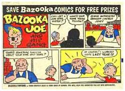 Photo of Bazooka Gum Comic