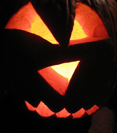 Photo of a Jack-o-Lantern