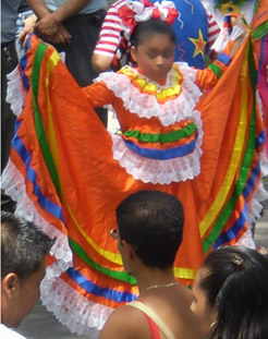 Photo of a Mexican Dancer