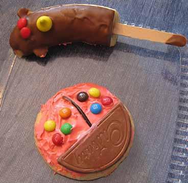 Photo of Ladybug Cookie and Monkey Banana - Animal Food