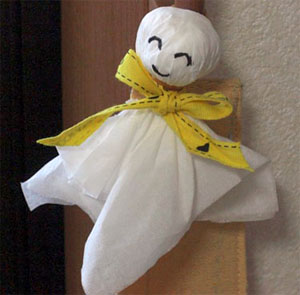 Photo of a Teru-teru-bozu