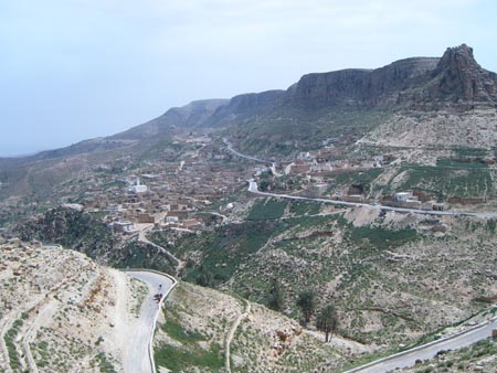 Photo of Tunisian Town on a Hill