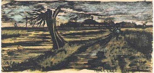 van-gogh-pollard-willow-1882-letter-sketch