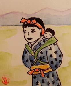 竹田の子守歌  - Chansons enfantines japonaises - Japon - Mama Lisa's World en français: Comptines et chansons pour les enfants du monde entier  - Intro Image