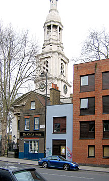 Photo of St. Leonard's in Shoreditch High Street
