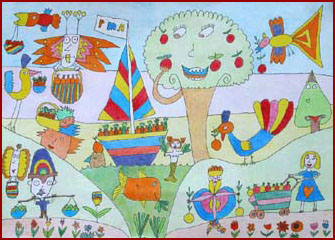 Señora Santana - Cuban Children's Songs - Cuba - Mama Lisa's World: Children's Songs and Rhymes from Around the World  - Intro Image