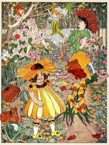 The Garden is Full of Flowers - American Children's Songs - The USA - Mama Lisa's World: Children's Songs and Rhymes from Around the World  - Intro Image