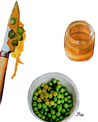 I Eat My Peas with Honey - American Children's Songs - The USA - Mama Lisa's World: Children's Songs and Rhymes from Around the World  - Intro Image