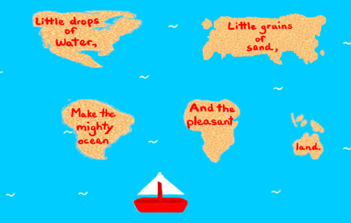 Little Drops of Water - American Children's Songs - The USA - Mama Lisa's World: Children's Songs and Rhymes from Around the World  - Intro Image