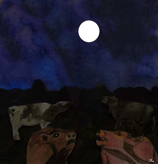 Milk-White Moon, Put the Cows to Sleep - American Children's Songs - The USA - Mama Lisa's World: Children's Songs and Rhymes from Around the World  - Intro Image