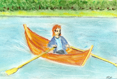 Row, Row, Row Your Boat - Canadian Children's Songs - Canada - Mama Lisa's World: Children's Songs and Rhymes from Around the World  - Intro Image