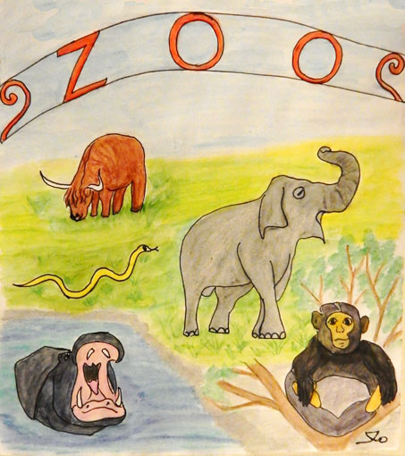 The Zoo - Canciones infantiles estadounidenses - Estados Unidos - Mamá Lisa's World en español: Canciones infantiles del mundo entero  - Intro Image