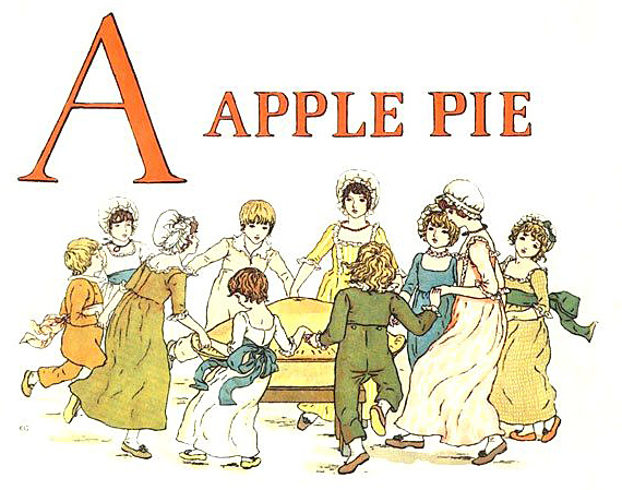 A Was an Apple Pie - English Children's Songs - England - Mama Lisa's World: Children's Songs and Rhymes from Around the World  - Intro Image