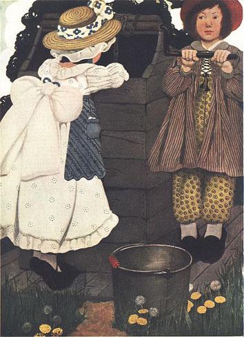 Jack and Jill - Chansons enfantines anglaises - Angleterre - Mama Lisa's World en français: Comptines et chansons pour les enfants du monde entier 5
