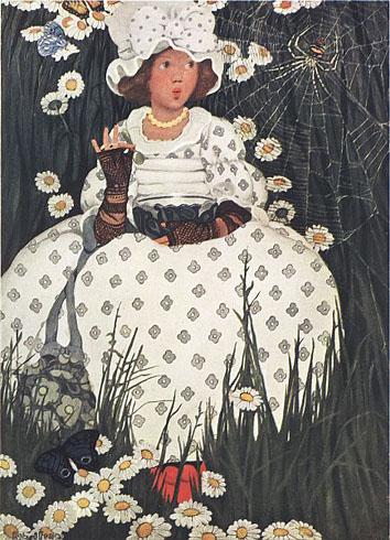Little Miss Muffet - Canciones infantiles inglesas - Inglaterra - Mamá Lisa's World en español: Canciones infantiles del mundo entero  - Intro Image