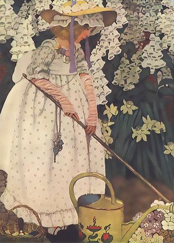 Mary, Mary, Quite Contrary - Canciones infantiles inglesas - Inglaterra - Mamá Lisa's World en español: Canciones infantiles del mundo entero  - Intro Image