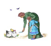 A White Hen - English Children's Songs - England - Mama Lisa's World: Children's Songs and Rhymes from Around the World  - Intro Image