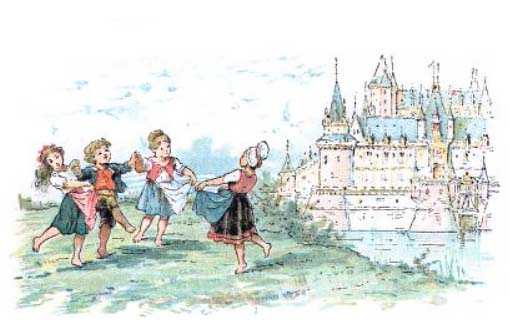 Ah ! Mon beau château ! - French Children's Songs - France - Mama Lisa's World: Children's Songs and Rhymes from Around the World  - Intro Image