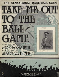 Take Me Out to the Ball Game - American Children's Songs - The USA - Mama Lisa's World: Children's Songs and Rhymes from Around the World  - Intro Image