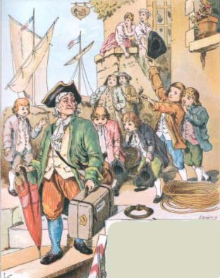 Bon voyage, Monsieur Dumollet - French Children's Songs - France - Mama Lisa's World: Children's Songs and Rhymes from Around the World  - Comment After Song Image