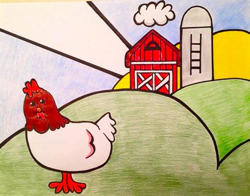 Cluck Old Hen - American Children's Songs - The USA - Mama Lisa's World: Children's Songs and Rhymes from Around the World  - Intro Image