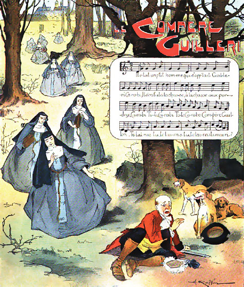 Compère Guilleri - French Children's Songs - France - Mama Lisa's World: Children's Songs and Rhymes from Around the World  - Intro Image