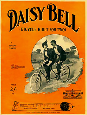 Daisy Bell (A Bicycle Built for Two) - American Children's Songs - The USA - Mama Lisa's World: Children's Songs and Rhymes from Around the World  - Intro Image