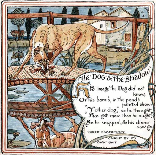 The Dog and The Shadow - English Children's Songs - England - Mama Lisa's World: Children's Songs and Rhymes from Around the World  - Intro Image
